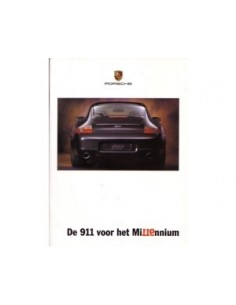 1999 PORSCHE 911 MILLENNIUM BROCHURE DUTCH