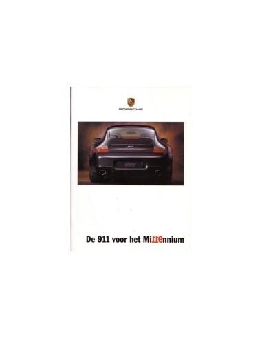 1999 PORSCHE 911 MILLENNIUM BROCHURE NEDERLANDS