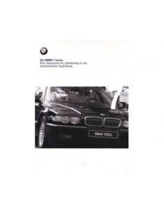 1998 BMW 7 SERIES BROCHURE DUTCH