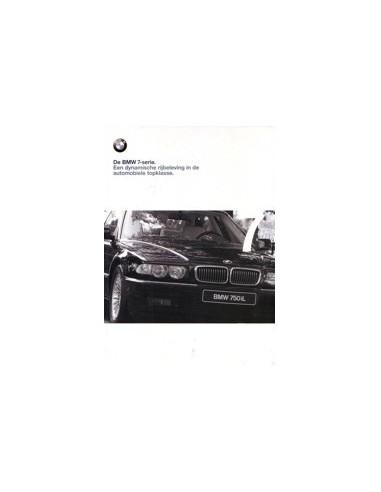 1998 BMW 7 SERIE BROCHURE NEDERLANDS