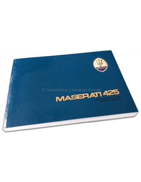 1984 MASERATI 425 INSTRUCTIEBOEKJE ITALIAANS