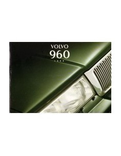 1995 VOLVO 960 OWNERS MANUAL HANDBOOK DUTCH
