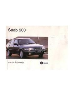 1994 SAAB 900 INSTRUCTIEBOEKJE NEDERLANDS