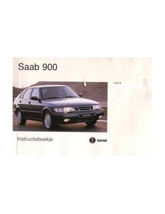 1994 SAAB 900 INSTRUCTIEBOEKJE NEDERLANDS