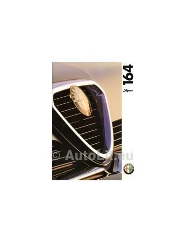 1994 ALFA ROMEO 164 SUPER BROCHURE NEDELANDS