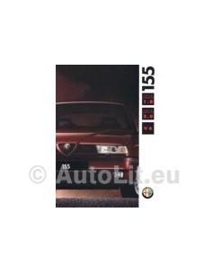 1992 ALFA ROMEO 155 BROCHURE DUTCH