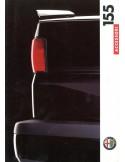 1992 ALFA ROMEO 155 ACCESSOIRES BROCHURE NEDERLANDS