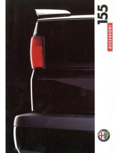 1992 ALFA ROMEO 155 ACCESSOIRIES BROCHURE DUTCH