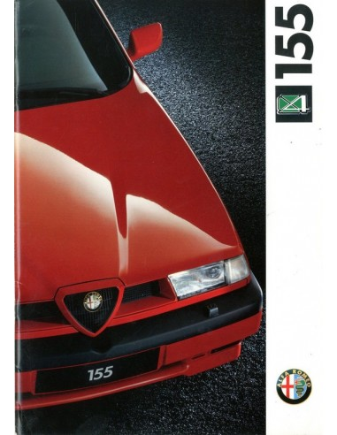 1992 ALFA ROMEO 155 Q4 BROCHURE NEDERLANDS