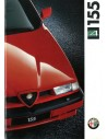 1992 ALFA ROMEO 155 Q4 BROCHURE DUTCH