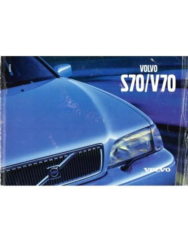 2000 VOLVO S70 / V70 INSTRUCTIEBOEKJE DUITS