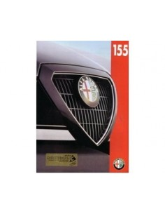 1993 ALFA ROMEO 155 BROCHURE DUTCH