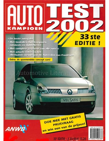 2002 AUTOTEST YEARBOOK DUTCH