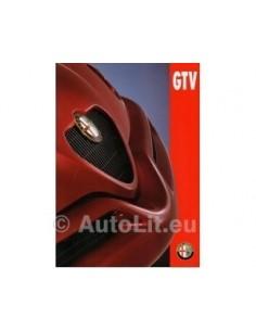 1995 ALFA ROMEO GTV BROCHURE DUTCH