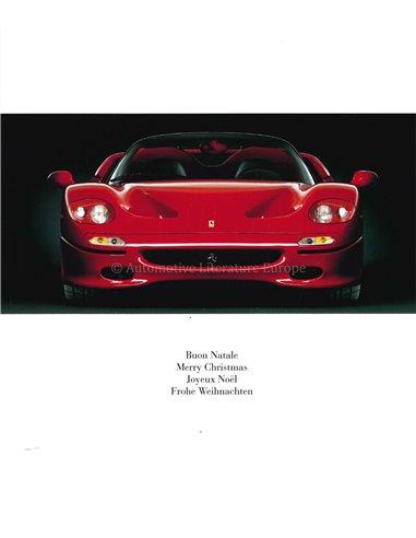 1992 FERRARI 348 SERIE SPECIALE POSTCARD
