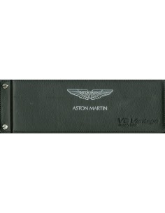 2008 ASTON MARTIN V8 VANTAGE INSTRUCTIEBOEKJE DUITS