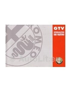 1994 ALFA ROMEO GTV INSTRUCTIEBOEKJE DUITS