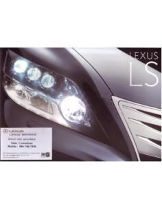 2010 LEXUS LS460 LS600 BROCHURE THAIS