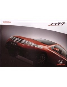 2009 HONDA CITY BROCHURE THAIS