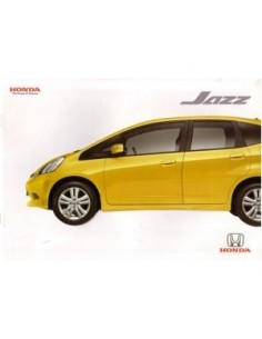 2009 HONDA JAZZ BROCHURE THAI