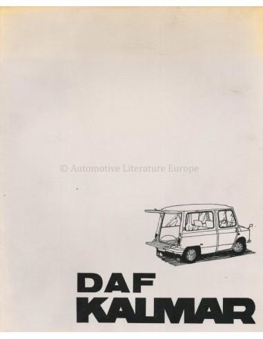 1971 DAF KALMAR BROCHURE NEDERLANDS