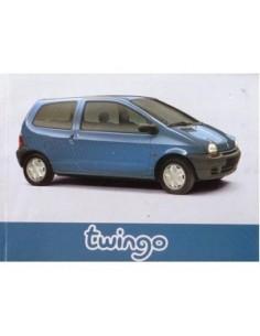 1996 RENAULT TWINGO INSTRUCTIEBOEKJE FRANS
