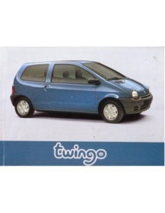 1996 RENAULT TWINGO OWNERS MANUAL HANDBOOK FRENCH