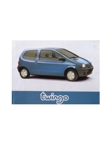 1996 renault twingo owners manual handbook french rh autolit eu Renault Espace Renault Kangoo