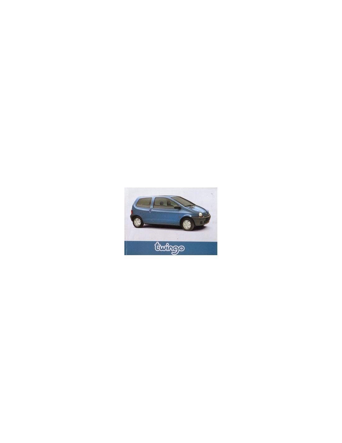 1996 renault twingo owners manual handbook french rh autolit eu Renault DeZir Renault DeZir