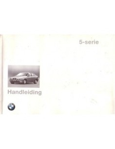 1997 BMW 5 SERIES OWNERS MANUAL HANDBOOK DUTCH