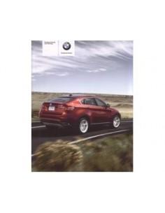 2008 BMW X6 INSTRUCTIEBOEKJE DUITS