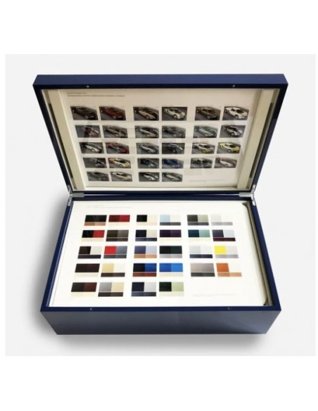 2005 BUGATTI VEYRON DEALER COLOURS & TRIM SPECIFICATION BOX