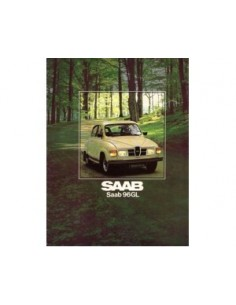 1979 SAAB 96 BROCHURE DUTCH