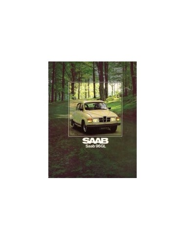 1979 SAAB 96 BROCHURE NEDERLANDS
