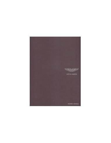 2008 ASTON MARTIN PROGRAMMA BROCHURE ENGELS