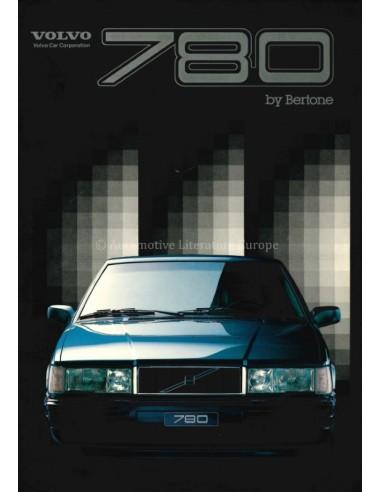 1987 VOLVO 780 BROCHURE ITALIAN