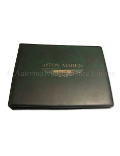1989 ASTON MARTIN V8 OWNERS MANUAL ENGLISH