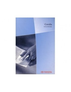 2003 TOYOTA COROLLA OWNERS MANUAL HANDBOOK DUTCH
