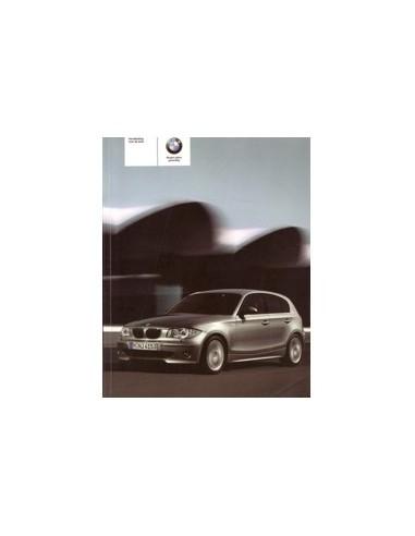2005 BMW 1 SERIE INSTRUCTIEBOEKJE NEDERLANDS