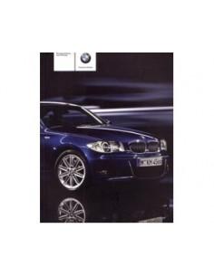 2008 BMW 1 SERIE INSTRUCTIEBOEKJE DUITS