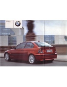 2002 BMW 3 SERIES COMPACT OWNERS MANUAL HANDBOOK DUTCH