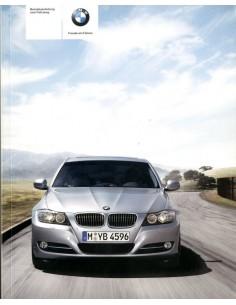 2009 BMW 3 SERIES OWNERS MANUAL HANDBOOK GERMAN
