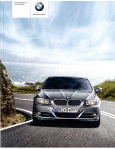 2010 BMW 3 SERIE INSTRUCTIEBOEKJE DUITS