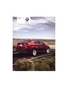 2010 BMW X5 X6 M OWNERS MANUAL HANDBOOK DUTCH