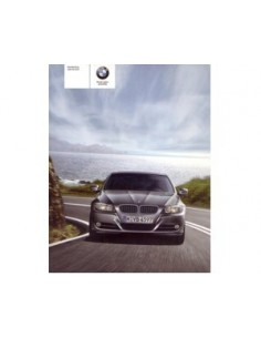 2009 BMW 3 SERIES OWNERS MANUAL HANDBOOK DUTCH