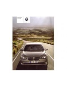 2009 BMW 7 SERIES OWNERS MANUAL HANDBOOK GERMAN