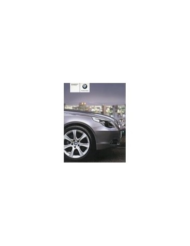 2004 BMW 5 SERIE INSTRUCTIEBOEKJE DUITS