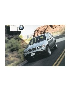 2000 BMW X5 OWNERS MANUAL HANDBOOK FRENCH