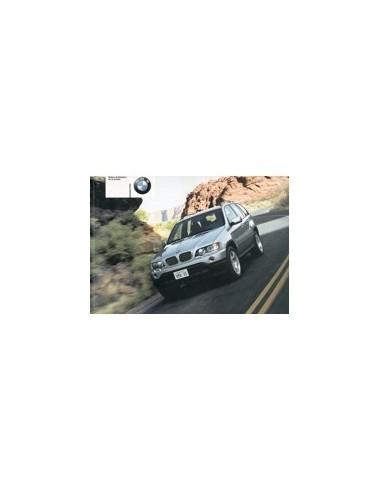 2002 BMW X5 INSTRUCTIEBOEKJE FRANS