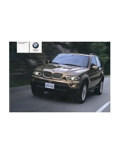 2004 BMW X5 OWNERS MANUAL HANDBOOK FRENCH